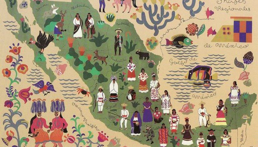 Mexico Culture Map