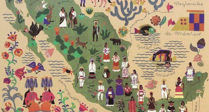 Mexico Culture Map